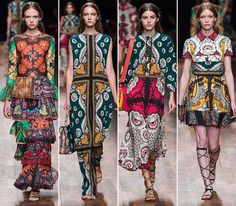 Valentino Spring/Summer 2015 Collection - Paris Fashion Week