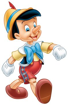 Transparent Pinocchio Clipart