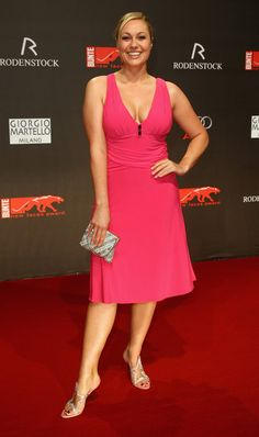 Ruth Moschner Television presenter Ruth Moschner attends the new faces award 2009 at the BCC on April 23, 2009 in Berlin, Germany. (Photo by...