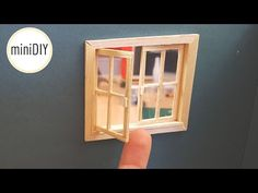 Flooring tutorial dollhouse miniature 1:12 scale hard floor demonstration Instructions - YouTube