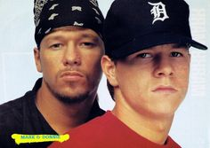 Mark and Donnie Wahlberg