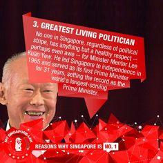 Lee Kuan Yew - Greatest Politician