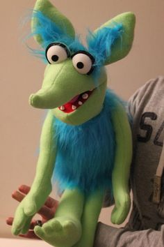 Custom Made Professional Monster Puppet / by FurriFingersPuppets:
