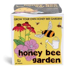 Honey Bee Garden Sow and Grow Kit  from Personalised Gifts Shop - ONLY £9.95