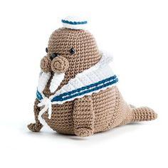 Walrus Crochet Pattern
