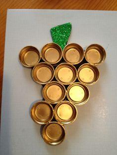 Recipiente muy original para las uvas de Nochevieja