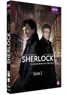 The Game is on ! A l'occasion de la sortie de la saison 3 de #Sherlock en dvd et blu-ray,  Brain Damaged vous offre des coffrets dvd. -