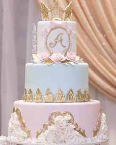 cakesYou can find Quince cakes and more on our website. 15th Birthday Cakes, Sweet 16 Birthday Cake, Beautiful Birthday Cakes, Birthday Cake Girls, Royal Cakes, Quinceanera Cakes, Quinceanera Decorations, Sweet 15 Cakes, Quince Themes