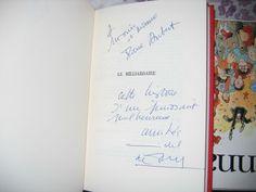 Le Milliardaire  Michel de Saint Pierre Avec Bel Envoi autographe 1970 relié