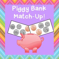 Piggy Bank Match Up!