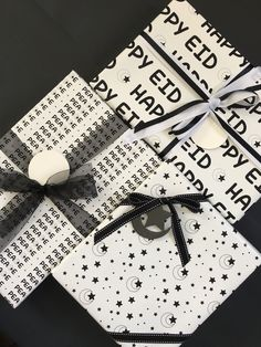 Eid wrapping from our Peace Collection!