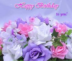 beautiful brithday card for special friends  and family brithdays god bless  .