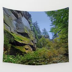 Mountain, granite rocks and pure nature Wall Tapestry, Granite, Landscape Photography, Pure Products, Tapestries, Nature, Rocks, Mountain, Hanging Tapestry