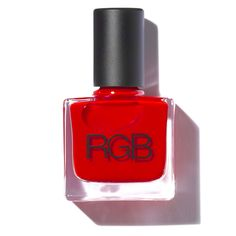 RGB Nail Color in Too Red