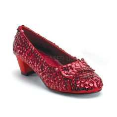 Girls Dorothy Wizard of Oz Red Sequin Shoes Fancy Dress Theatre Stage Dress Up Toddler Designer Shoes, High Heel Pumps, Pumps Heels, Red Shoes, Me Too Shoes, Fancy Dress, Dress Up, Dorothy Wizard Of Oz, Designer Wear