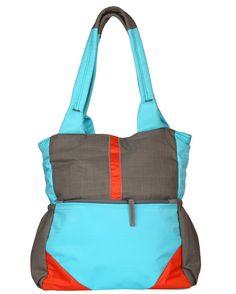 Multi Color Plain Fabric Shoulder Bag