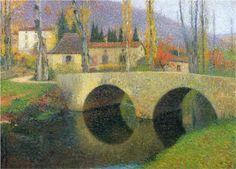 The Bridge in Labastide du Vert - Henri Martin