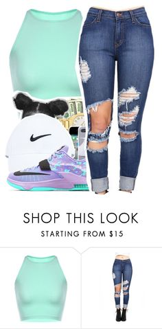 """Untitled #272"" by mindset-on-mindless ❤ liked on Polyvore featuring beauty and NIKE"