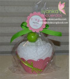 Cupcake+de+toalla