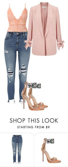 """Masi"" by kyaneeee on Polyvore featuring River Island and Miss Selfridge"