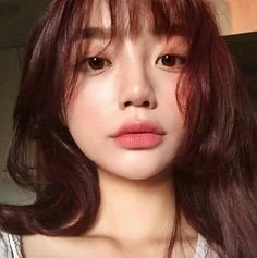 Korean Natural Makeup, Korean Makeup, Beauty Make Up, Hair Beauty, Casual Makeup, Pinterest Girls, Lots Of Makeup, Cute Korean, Girls Makeup