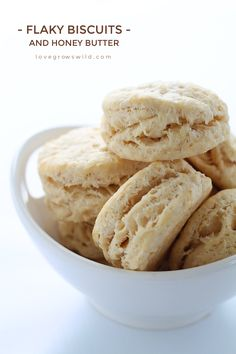 Tender, flaky whole wheat biscuits are the perfect addition to any meal. This recipe gets a healthy boost from coconut oil in place of the butter! | Lov...
