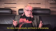 """Interview With Jean Luc Godard at Cannes features a personal and intimate discussion with the legendary filmmaker about his philosophies, career and his new film ""Adieu au Langage"" (Goodbye to Language). Goodbye To Language, Jean Luc Godard, Cannes Film Festival, Filmmaking, Philosophy, Career, Interview, Films, Movies"