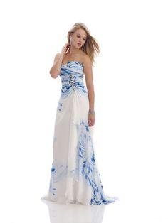 Watercolor Prom Dress