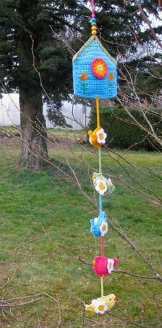 Birdhouse Hanging Decoration