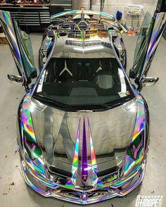 Carro Padre Luxury Sports Cars, Top Luxury Cars, Exotic Sports Cars, Cool Sports Cars, Sport Cars, Cool Cars, Carros Lamborghini, Lamborghini Cars, Holographic Car