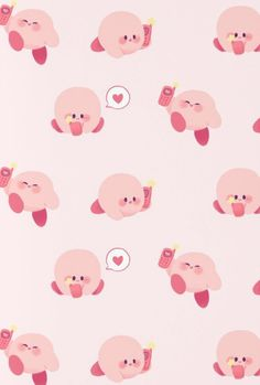 Kirby Memes 588353138794519252 - Kirby Pattern Source by clemcoupry Cute Backgrounds, Cute Wallpapers, Phone Backgrounds, Iphone Wallpapers, Kirby Games, Pokemon, Ac New Leaf, Nintendo Characters, Kawaii Wallpaper