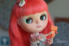 Lótus Doll Base: Neo Blythe Simply Bubble Boom Full Custom by Gisele Bianchini For: Gisele Bianchini Custom Commission Number #106  #damboo #dambooflavors