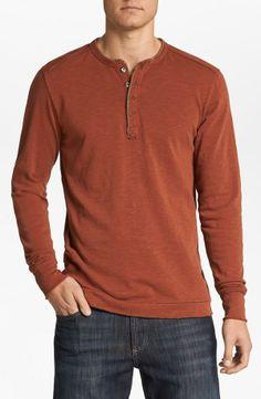 Cyber Monday deal: Men's henley cotton shirt