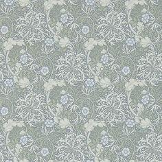 Buy Morris & Co Seaweed Wallpaper, Silver/Ecru, DM3W214715 Online at johnlewis.com