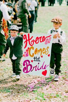 Ring Bearer Ideas - Photos of Ring Bearers | Wedding Planning, Ideas & Etiquette | Bridal Guide Magazine