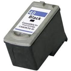 Canon remanufactured ink cartridge PG40BK €15.99