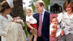 princess charlotte elizabeth diana christening   10 Photos From Princess Charlotte's Christening And How Princess Diana ...