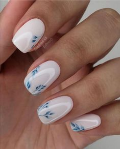 Stylish Nails, Trendy Nails, Cute Acrylic Nails, Cute Nails, Nail Manicure, Gel Nails, Nail Polish, Coffin Nails, Milky Nails