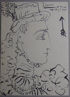 Pablo Picasso - Original Lithograph 1961 - Toro Y Toros