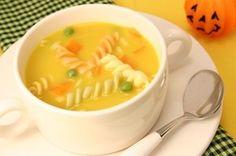 クリーミーかぼちゃスープ