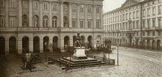 Pałac Staszica, ok. 1881-83, fot. Konrad Brandel.