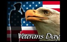 For your unselfish efforts... For serving our country selflessly... We salute YOU! Happy Veterans Day!