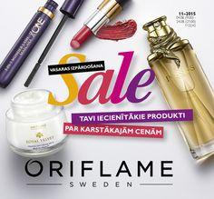 Onlien katalogs: http://lv.oriflame.com/products/digital-catalogue-current?p=201511