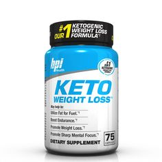 What Is It: This is a weight loss product for the ketogenic diet by BPI called Keto Weight Loss. It will use the fat in your diet to give you energy, focus and burn fat KETO WEIGHT LOSS is designed fo