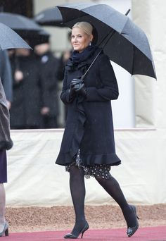 Crown Princess Mette-Marit - The President of Latvia visits to Norway