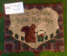 Live within your harvest.  null