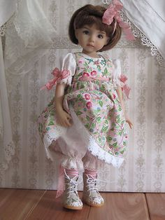 Spring Pink Set Handmade for 13 Effner Little Darling 14 Kish BJD by JEC | eBay - papillion19