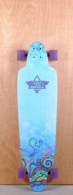 "Dusters Prebuilt 38"" Kraken Longboard Complete Top"