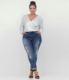 Blusa Cache-Coeur Metalizada Curve   Plus Size - Lojas Renner 1473b11f857