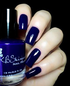 Fashion Polish: KBShimmer Early Summer 2014 collection, Right as Reign.